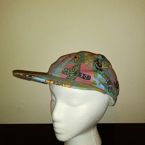 Retro Colored Throw Back Hat